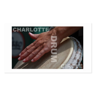 Charlotte Drum Circle Carts Business Card Template