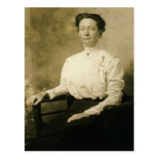 """Charlotte E. """"Lottie"""" (JACOBS) ZARFOS circa 1910 Tarjetas Postales"""