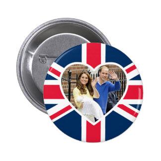 Charlotte Elizabeth Diana - Británicos quieren a Pin Redondo De 2 Pulgadas