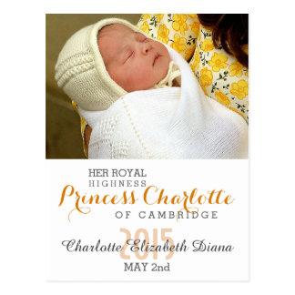 Charlotte Elizabeth Diana - Británicos quieren a Postal