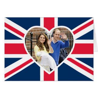 Charlotte Elizabeth Diana - Británicos quieren a Tarjeta De Felicitación