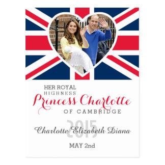 Charlotte Elizabeth Diana - Británicos quieren a Tarjetas Postales