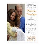 Charlotte Elizabeth Diana - Británicos quieren a Postales