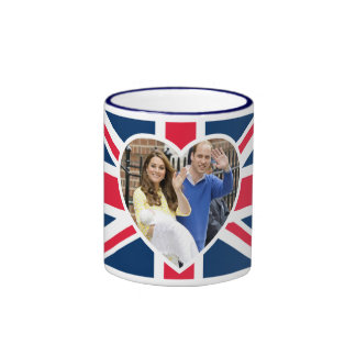 Charlotte Elizabeth Diana - Británicos quieren a Taza A Dos Colores