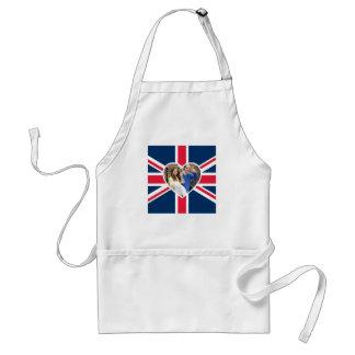 Charlotte Elizabeth Diana - British Will Kate Adult Apron