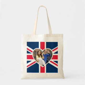Charlotte Elizabeth Diana - British Will Kate Budget Tote Bag