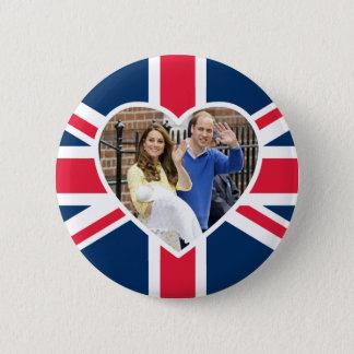 Charlotte Elizabeth Diana - British Will Kate Button