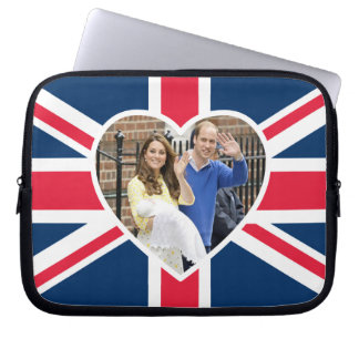 Charlotte Elizabeth Diana - British Will Kate Computer Sleeve