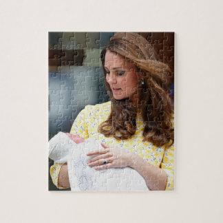 Charlotte Elizabeth Diana - British Will Kate Jigsaw Puzzle