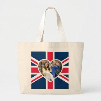 Charlotte Elizabeth Diana - British Will Kate Jumbo Tote Bag