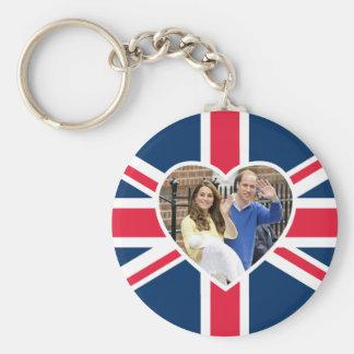 Charlotte Elizabeth Diana - British Will Kate Keychain