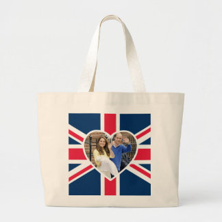Charlotte Elizabeth Diana - British Will Kate Large Tote Bag