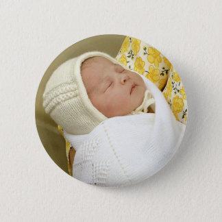 Charlotte Elizabeth Diana - British Will Kate Pinback Button