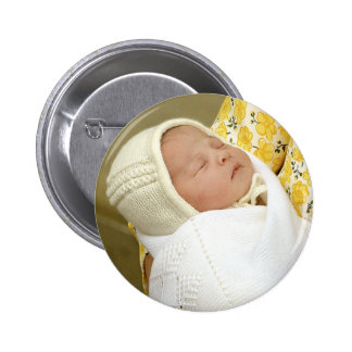Charlotte Elizabeth Diana - British Will Kate Pinback Button