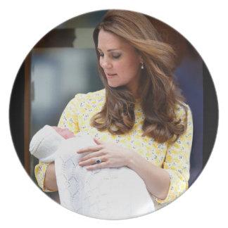 Charlotte Elizabeth Diana - British Will Kate Plate