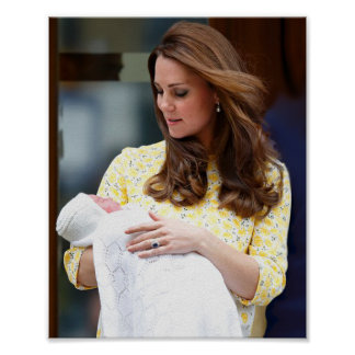 Charlotte Elizabeth Diana - British Will Kate Poster