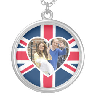 Charlotte Elizabeth Diana - British Will Kate Silver Plated Necklace
