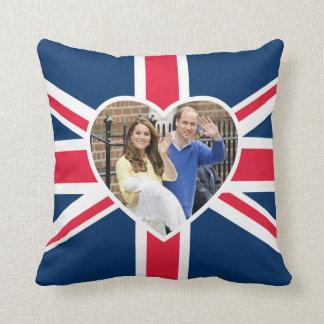 Charlotte Elizabeth Diana - British Will Kate Throw Pillow