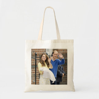 Charlotte Elizabeth Diana - British Will Kate Tote Bag