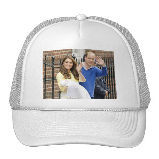Charlotte Elizabeth Diana - British Will Kate Trucker Hat