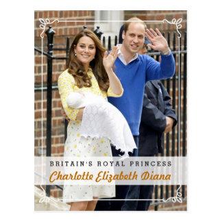Charlotte Elizabeth Diana - princesa real Postales