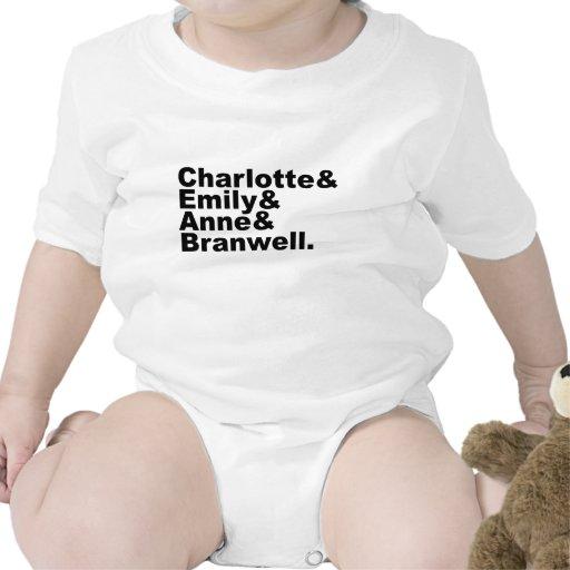 Charlotte Emily Anne Branwell | Bronte Siblings Tshirts