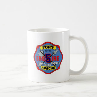 Charlotte Fire Department Station No. 5 Coffee Mugs