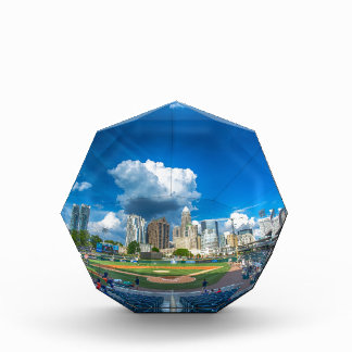 charlotte knights baseball stadium game city bbt b acrylic award
