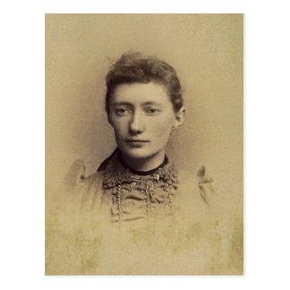 "Charlotte ""Lottie"" (JACOBS) ZARFOS, circa 1890 Postales"