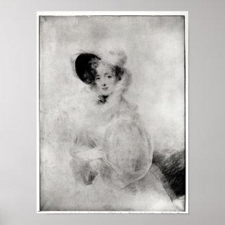 Charlotte Louise Eleonore Adelaide d'Osmond Poster