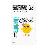 Charlotte NC Chick Postage