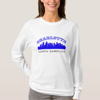 Charlotte NC Outline T-Shirt