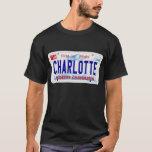 Charlotte - NC Plate T-Shirt