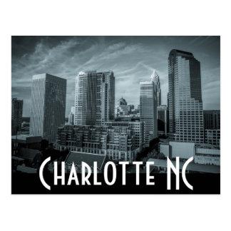 Charlotte NC Postcard