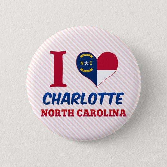 Charlotte, North Carolina Button