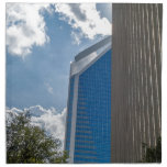 charlotte north carolina downtown city skyline napkin