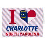 Charlotte, North Carolina Greeting Card
