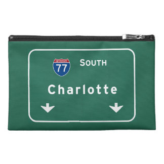 Charlotte North Carolina nc Interstate Highway : Travel Accessories Bags