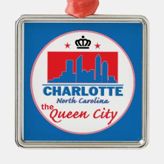 Charlotte North Carolina Ornaments