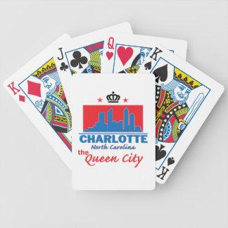 Charlotte North Carolina Poker Cards