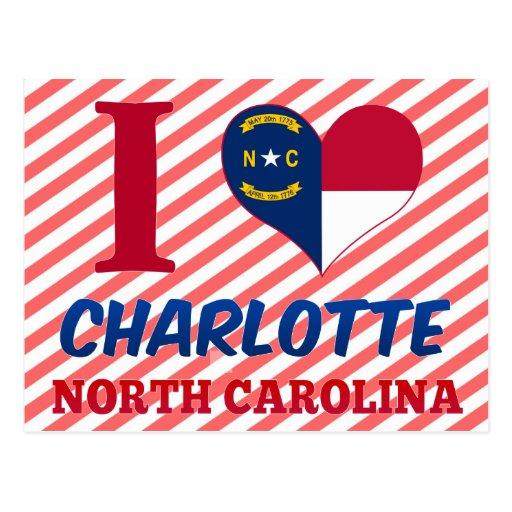 Charlotte, North Carolina Postcard
