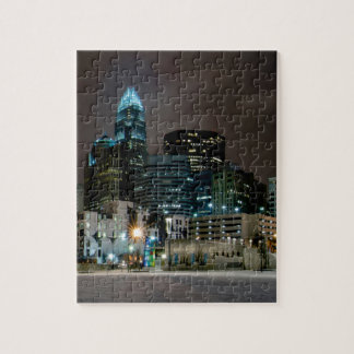 Charlotte, North Carolina skyline Jigsaw Puzzle