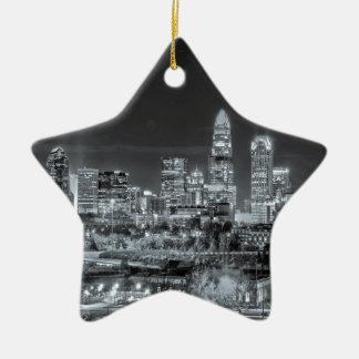 charlotte north carolina skyline ornament