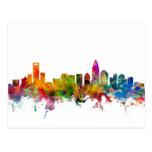 Charlotte North Carolina Skyline Postcard