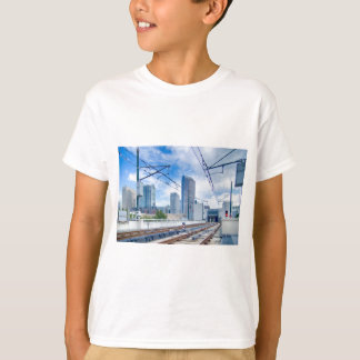 Charlotte, North Carolina skyline T-Shirt