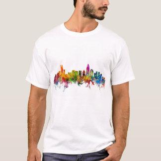 Charlotte North Carolina Skyline T-Shirt