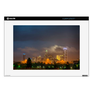 charlotte north carollina city skyline decals for laptops