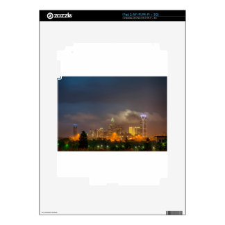 charlotte north carollina city skyline decals for the iPad 2