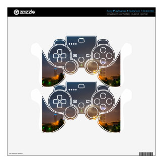 charlotte north carollina city skyline skin for PS3 controller