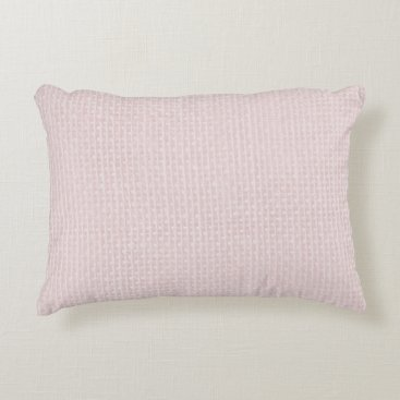 Beach Themed Charlotte Pink-Baby Princess Pink-Burlap Pillow